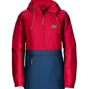 Ll bean women's mountain classic anorak